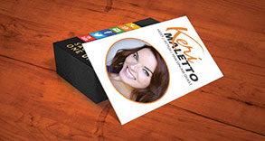 Keri Maletto Business Card Design