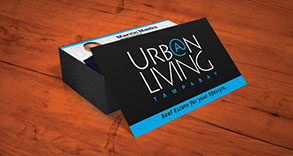 Urban Living Business Card Design