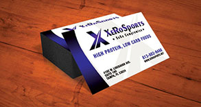 Xero Sports Business Card Design